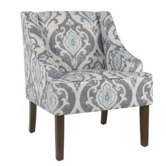 Accent Chairs Under 150 Oxo Sprout High Chair Replacement Cushion Arm Kirklands Suri Blue Swoop