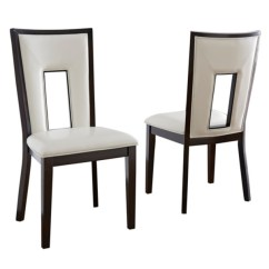 Kirklands Dining Chairs Lawson Fenning Chair Room White Daxel Upholstered Set Of 2