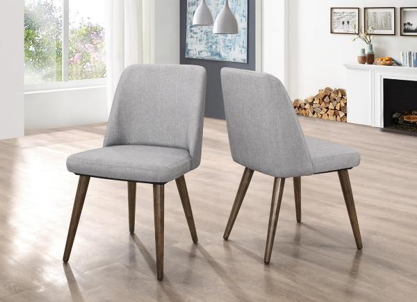 kirklands dining chairs cheap beach chair room gray modern set of 2