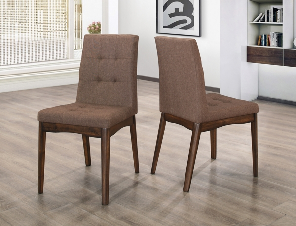 kirklands dining chairs table and chair set uk room brown mid century of 2