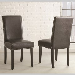 Parson Chairs Perfect Chair Craigslist Dining Room Kirklands Black Verano Parsons Set Of 2