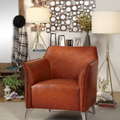 Brown Accent Chairs Pedicure Spa Uk Arm Kirklands Brandy Chair