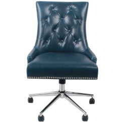Blue Leather Office Chair Covers Cape Town Candace Bonded Kirklands