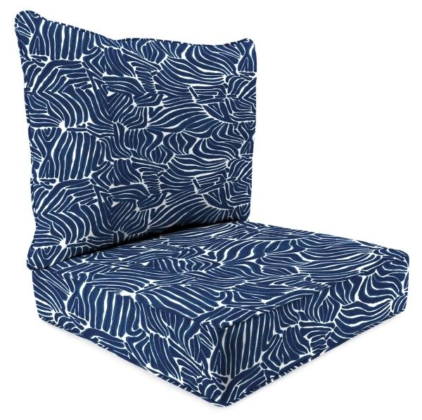2 pc rocking chair cushions elastic seat covers outdoor pillows kirklands sinharaja zaffre deep cushion