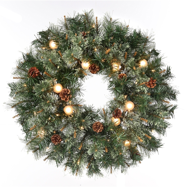christmas wreaths and wreath