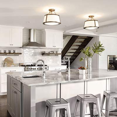kitchen lighting ceiling wall