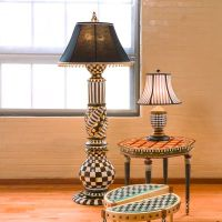 MacKenzie-Childs | Courtly Check Floor Lamp