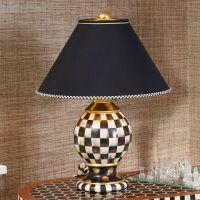 MacKenzie-Childs | Courtly Check Globe Lamp