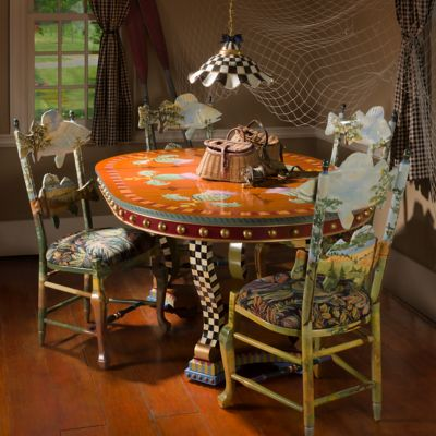 MacKenzieChilds  Highland Thistle Dining Table