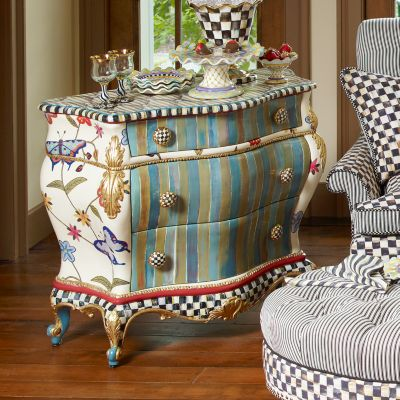 Mackenzie Childs Butterfly Large Chest