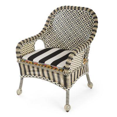 childs rattan chair and half rocker recliner wicker mackenzie