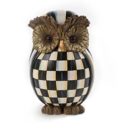 MacKenzieChilds  Courtly Check Owl