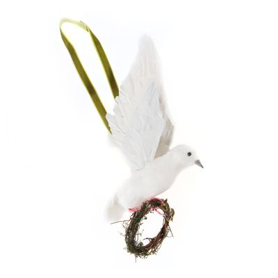 MacKenzie Childs Hanging Dove Ornament