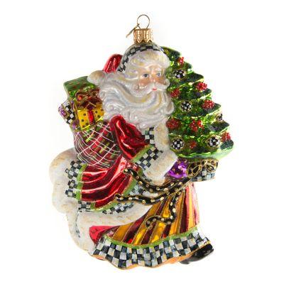 glass photo ornament