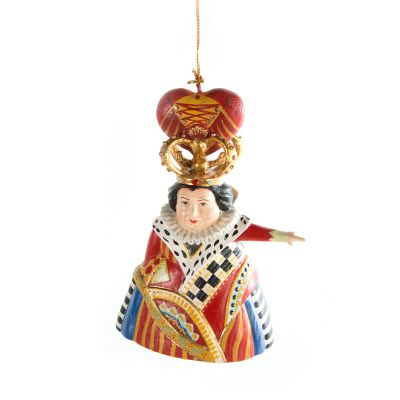 kitchen decor accessories long islands mackenzie-childs | queen of hearts ornament