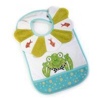 MacKenzie-Childs   Toddler's Bib - Bow Tie Frog