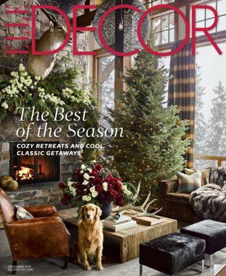 ELLE Decor Magazine December Cover