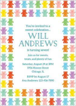 kids birthday invitations paper