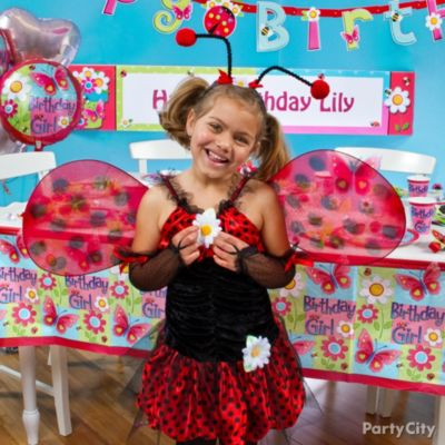 Garden Girl Party Ideas Guide Party City