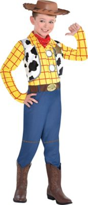 Boys Woody Halloween Costume Size Small Toy Story 4