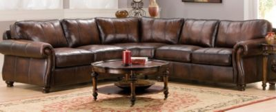 Van Gogh Traditional Leather Living Room Collection