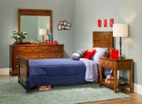 Shadow 4-pc. Twin XL Bedroom Set | Bedroom Sets | Raymour ...