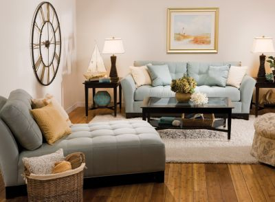 Color Story Decorating With Blue Monochromatic Raymour And Flanigan Furniture Design Center