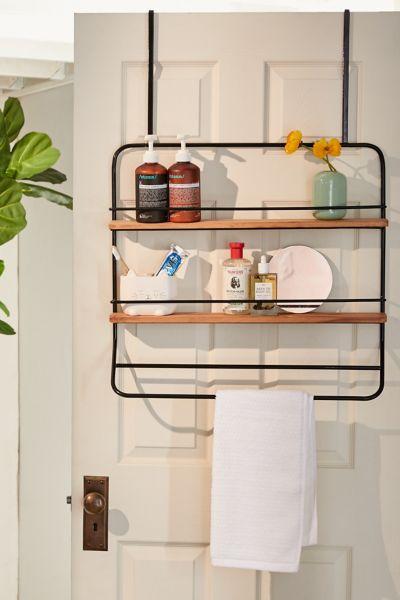 over the door tiered storage rack