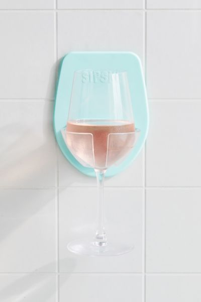sipski shower wine glass