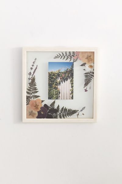 pressed floral 12x12 picture