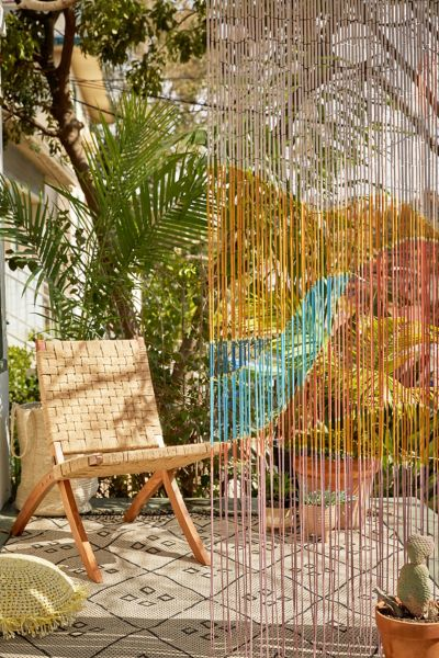 landscape bamboo beaded curtain