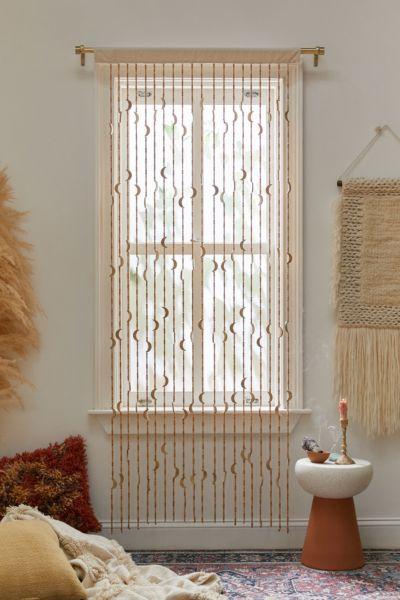 crescent beaded curtain