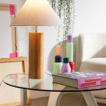 Modern Wood Table Lamp Urban Outfitters