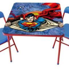 Scooby Doo Chair Purple Bean Bag Gettington Children S Metal Table And Set Dc Comics Superman