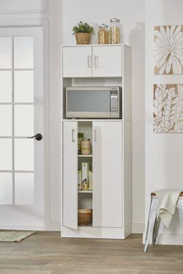 alcove microwave pantry