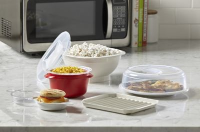 nordic ware 7 pc quick and easy microwave cooking set