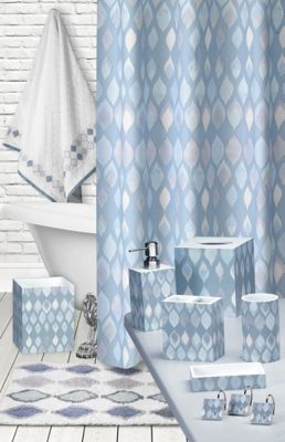 shell rummel sea glass shower curtain
