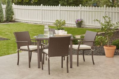 mcleland design catalina 5 pc outdoor patio dining set