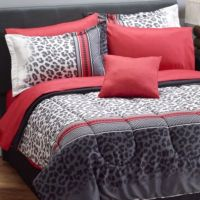 Fingerhut Comforter Sets. Leopard Print Bedding Totally