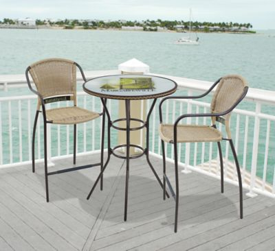 margaritaville bistro table and chair set