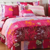Butterfly Field Bed Set
