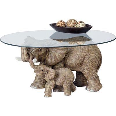 elephant coffee table