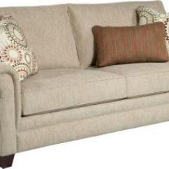 Broyhill Sleeper Sofa Ashley Durablend Antique Monica Queen