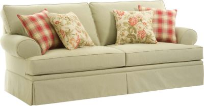 broyhill sleeper sofa ashley yvette steel emily queen