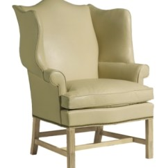 Hickory Chair Co Stadium Chairs With Arms Townsend Wing From The James River Collection By