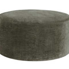 Hickory Chair Leather Couch Cover Rentals Dc Saturn Round Ottoman From The 1911 Collection By