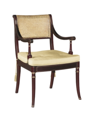 hickory chair co junior fishing stewart arm from the james river collection by