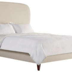 Hickory Chair Furniture Beds Low Profile Selby Headboard Queen From The Made To Order Bed Collection
