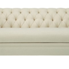 Armless Sofas Grey Chaise Sofa Bed Marquette Made To Measure Tufted From The Hartwood