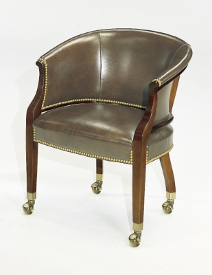 chairs on casters desk chair with arms no wheels tub from the james river collection by hickory